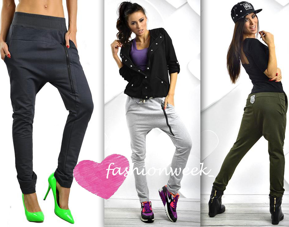 Kalhoty baggy casual haremky Blog styl A390 - fashionweek-moda.cz 3bdcdbe841