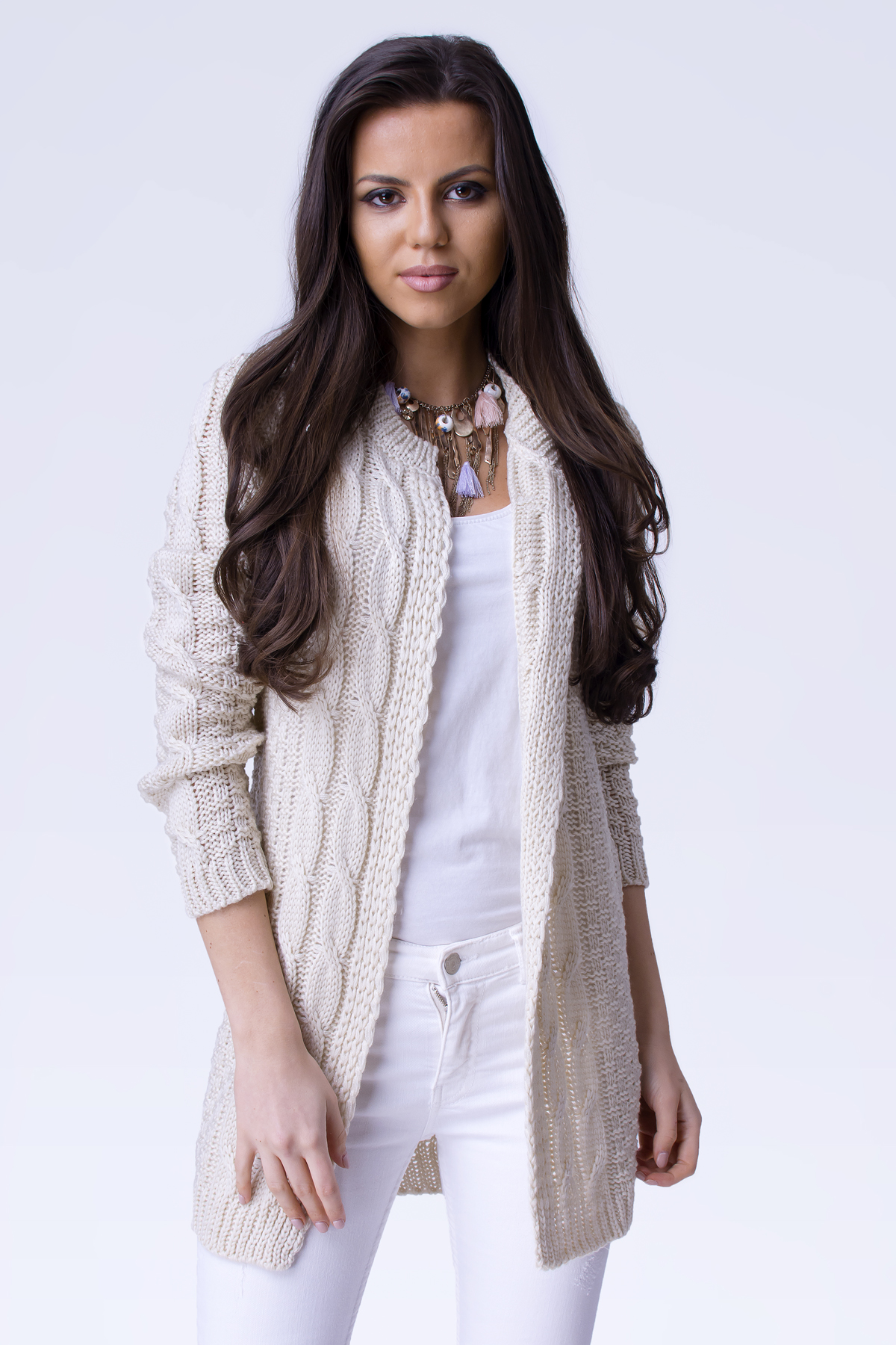4aa8249dcf7f Exclusive Blazer cardigan s copánky April - fashionweek-moda.cz