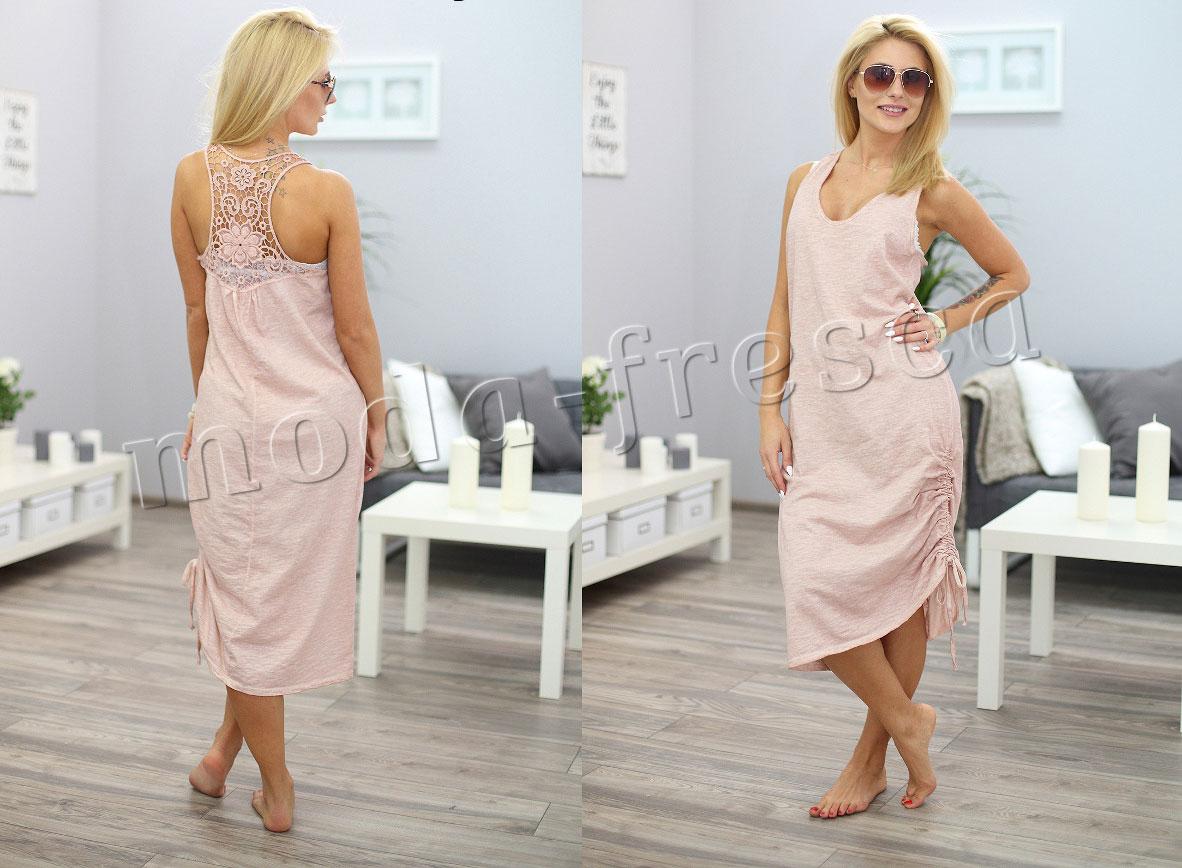 Letní plážové šaty s výšivkou BOHO STYLE MF21 M748 - fashionweek-moda.cz 2b8e2f5d8d