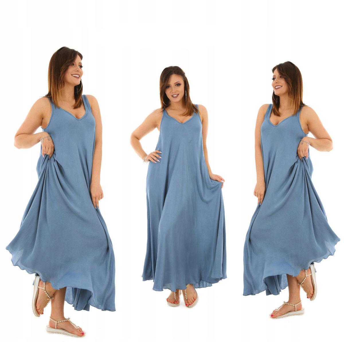 ffd191072 Dlhé šaty v maxi dĺžke sú na leto ako stvorené. Maxi šaty sú nenahraditeľný  kúsok na leto, dovolenku alebo len do práce. V chladivých dňoch si cez  ramená ...